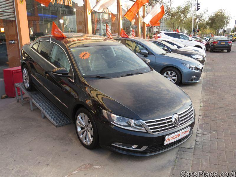cars place volkswagen passat cc 2014 ofir car dealership netanya. Black Bedroom Furniture Sets. Home Design Ideas