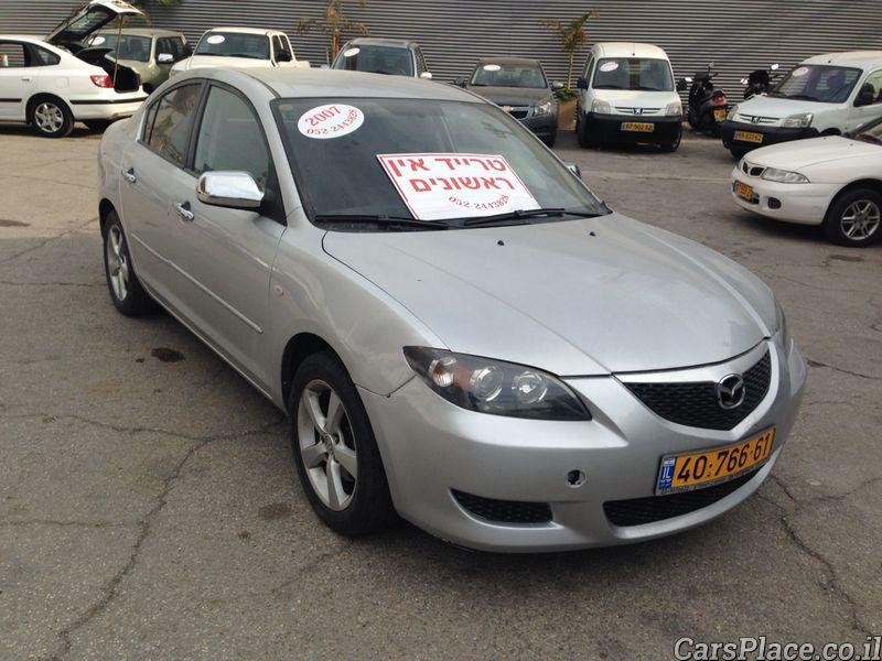 מיוחדים Cars Place - Mazda 3 2007 - Trade-In Rishonim HC-77
